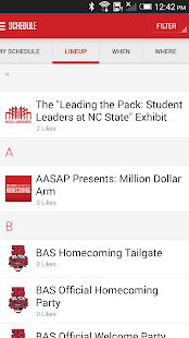 Red & White:NCState Homecoming - screenshot