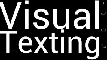 Screenshot of Visual Texting
