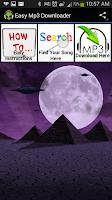 Screenshot of Easy MP3 Downloader