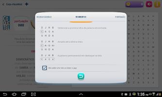 Screenshot of Coquetel Caça-Palavras