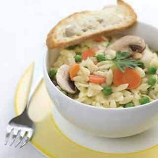Risotto-Style Orzo with Spring Vegetables