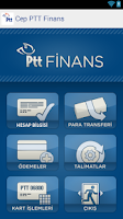 Screenshot of Cep PTT Finans