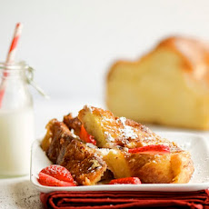 Fromage Blanc Stuffed French Toast