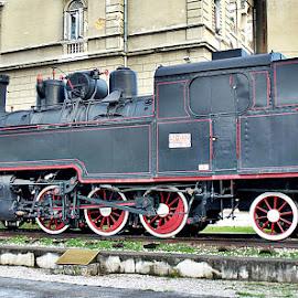 View of the past century by Jelena Puškarić - Transportation Trains (  )