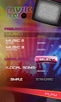 Screenshot of Music Hero