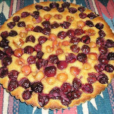 Sweet Cherry & Almond Tart