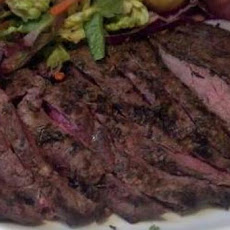 Garlic & Herb Marinated Flat Iron Steak