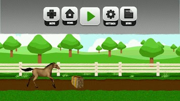 Screenshot of Horse Run & Jump Free