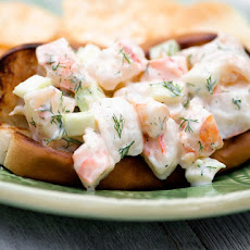 Grilled Shrimp Rolls