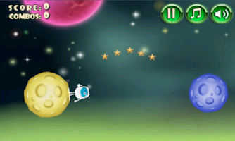 Screenshot of Astronaut Space Jump Traveler