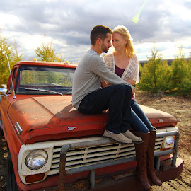 old ford by Marcel Monette - People Couples
