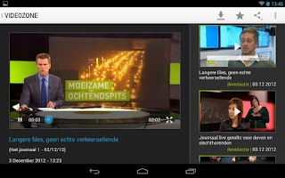 Screenshot of Videozone