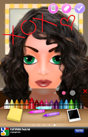 Screenshot of Super Star Girl Makeover