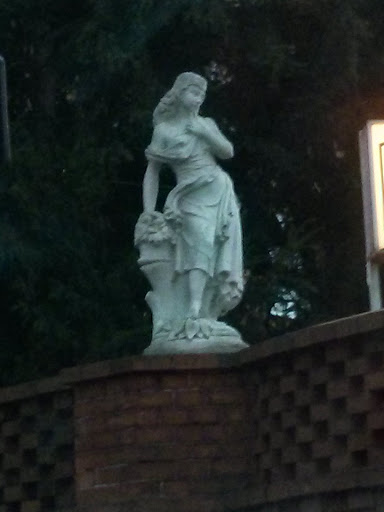 Statue of a Young Woman