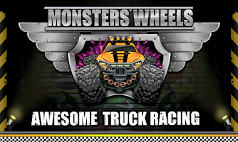 Screenshot of Monster Wheels: Kings of Crash