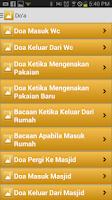Screenshot of Doa Harian dan Motivasi Islam