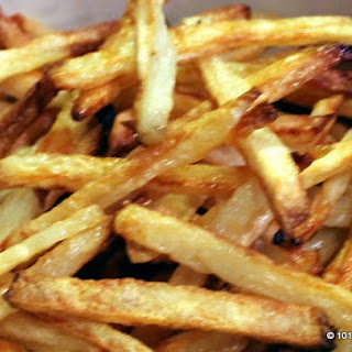 Easiest Crispy Oven Baked French Fries