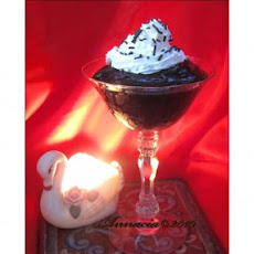 Silly Easy Chocolate Creme De Menthe Pudding