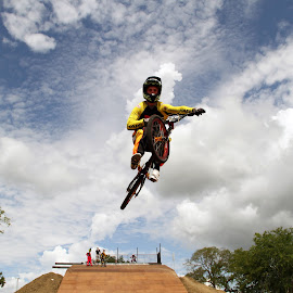 Leap of Faith by Charlie Brooks - Sports & Fitness Cycling ( bikes, uci supercross, bmx, usa bmx, supercross, Bicycle, Sport, Transportation, Cycle, Bike, ResourceMagazine, Outdoors, Exercise, Two Wheels )