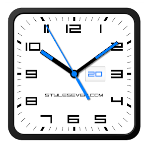 Square Clock Android 7 Android Apps On Google Play
