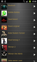 Screenshot of Videogame Ringtones