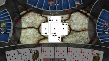 Screenshot of Spades Gold