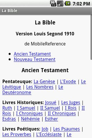 La Bible Louis Segond 1910
