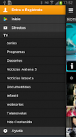 Screenshot of Atresplayer