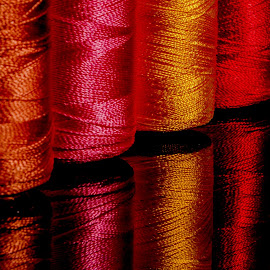 colourful line by Sanlap Biswas - Artistic Objects Still Life ( nikon d 7000, line, colour threads, artistic objects )