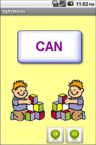 Learn to read - Sight Words