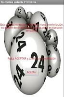 Screenshot of Numeros para loteria