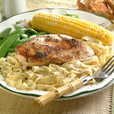 Italian Seasoned Chicken and Fettuccine