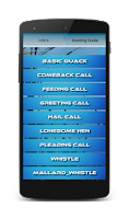 Screenshot of Duck Hunting Calls