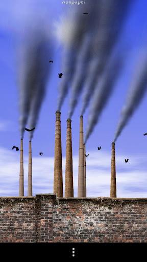 Pollution Live Wallpaper