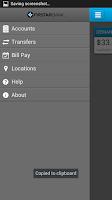 Screenshot of Firstar Bank Mobile