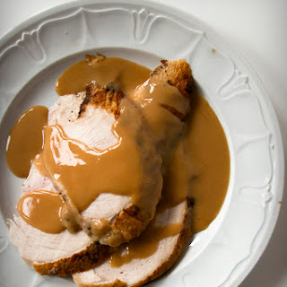 Thanksgiving Turkey Pan Gravy
