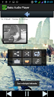 Screenshot of Baku Audio Player