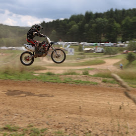 The leap by Danny Mix - Sports & Fitness Motorsports