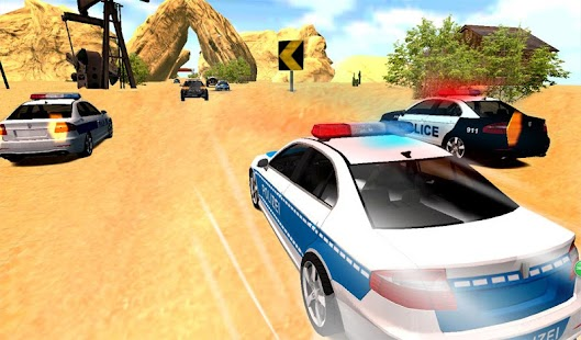 Cops Chase Racing- screenshot thumbnail