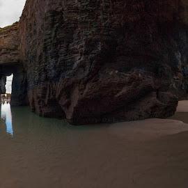 Playa de las catedrales Ribadeo by Dimitar Pavlov - Landscapes Beaches ( ribadeo, playa de las catedrales, spain )
