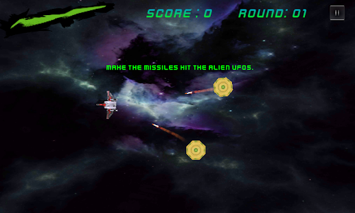Space Combat - Dodge UFOs - screenshot