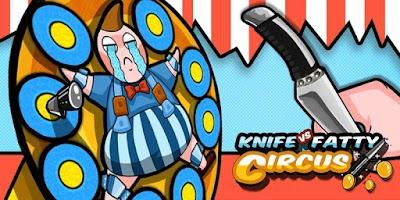 Screenshot of Knife VS Fatty:Circus
