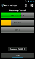 Screenshot of DMSatFinder