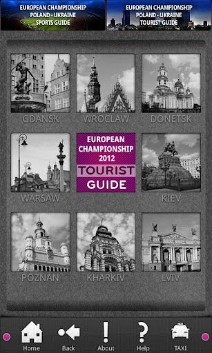 Tourist Guide for 2012 Euro