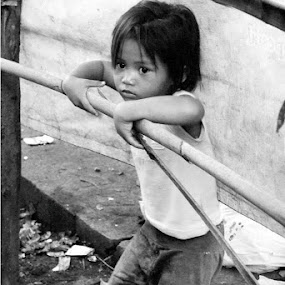 children.. by Dwi Ratna Miranti - Black & White Street & Candid