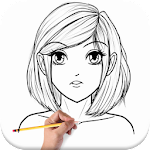 How To Draw Anime Girl 1.1 Apk