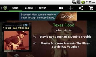 Screenshot of Song Seeker