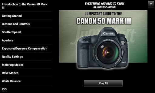 Guide Canon 5D Mark III