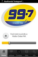 Screenshot of Clube FM (99,7)