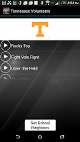 Screenshot of COLLEGE FIGHTSONGS